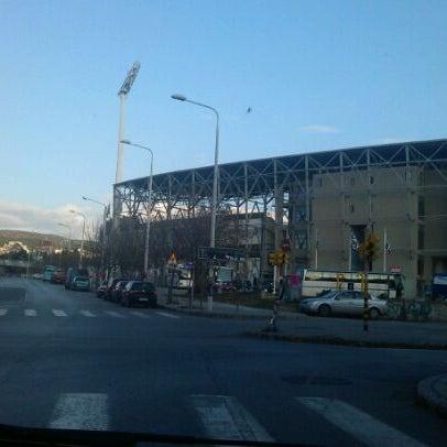 Foto tomada en Toumba Stadium por Grig05 A. el 1/10/2012