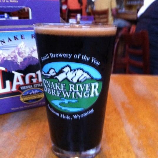 Das Foto wurde bei Snake River Brewery & Restaurant von Nancy C. am 9/12/2011 aufgenommen