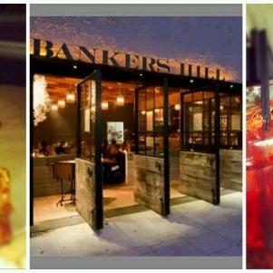 Foto tirada no(a) Bankers Hill Bar & Restaurant por Natasha B. em 7/11/2012