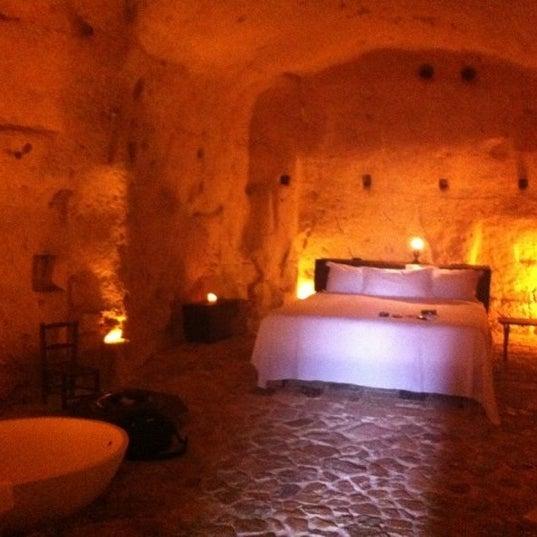 Снимок сделан в Sextantio | Le Grotte della Civita пользователем Carlo B. 8/7/2012