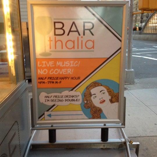 Снимок сделан в Bar Thalia пользователем Joseph C. 3/9/2012