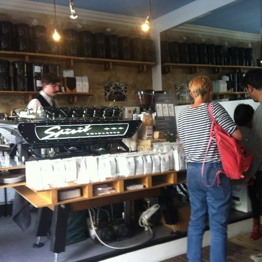 Снимок сделан в Bonanza Coffee пользователем Jan 6/14/2012
