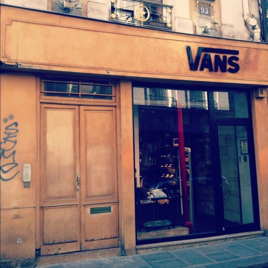 Vans (Now Closed) - Les Halles - 93 rue Saint-Honoré