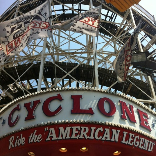 Foto tomada en The Cyclone por Mike H. el 6/29/2012