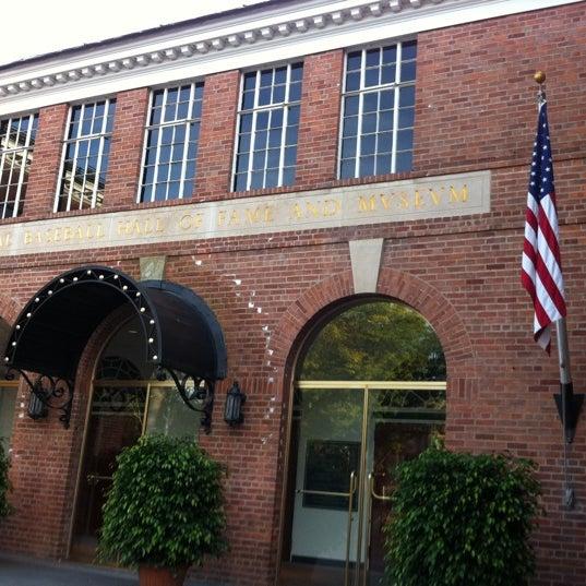 9/19/2011 tarihinde Aaron A.ziyaretçi tarafından National Baseball Hall of Fame and Museum'de çekilen fotoğraf