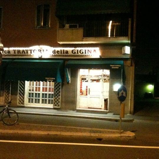 รูปภาพถ่ายที่ Antica Trattoria della Gigina โดย Piermichele G. เมื่อ 9/29/2011