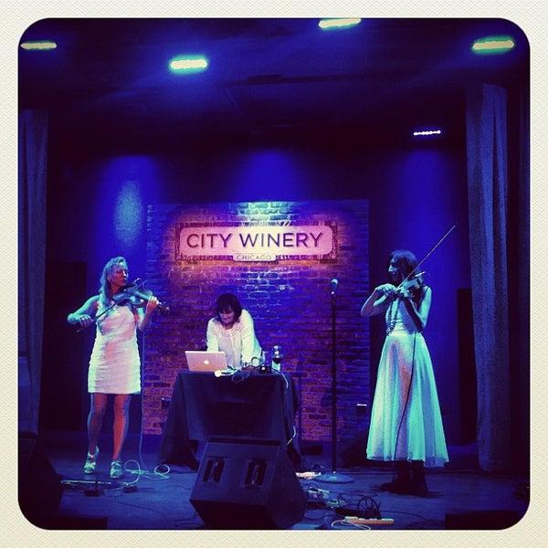8/21/2012 tarihinde Elise M.ziyaretçi tarafından City Winery'de çekilen fotoğraf