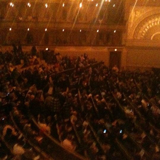 Снимок сделан в Auditorium Theatre пользователем CherylEsq 4/12/2012