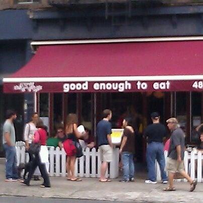 9/10/2011 tarihinde Lad D.ziyaretçi tarafından Good Enough to Eat'de çekilen fotoğraf