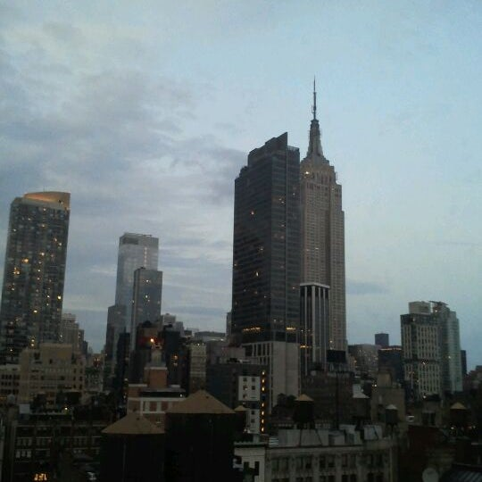 9/7/2011 tarihinde Paolo M.ziyaretçi tarafından Hilton New York Fashion District'de çekilen fotoğraf