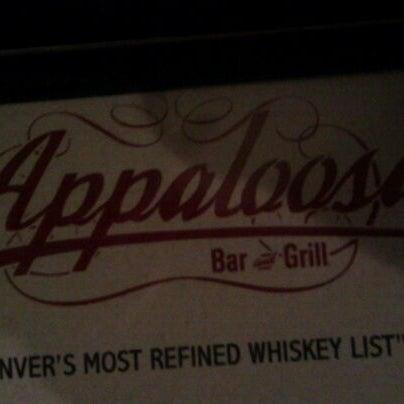 3/12/2011 tarihinde pickles B.ziyaretçi tarafından Appaloosa Grill'de çekilen fotoğraf