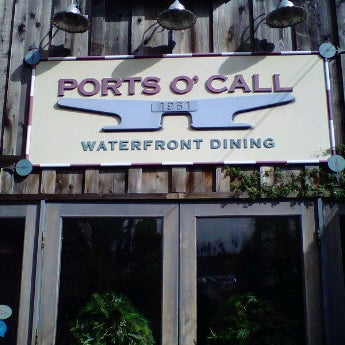 Ports O Call Waterfront Dining Restaurant Now Closed Seafood Restaurant