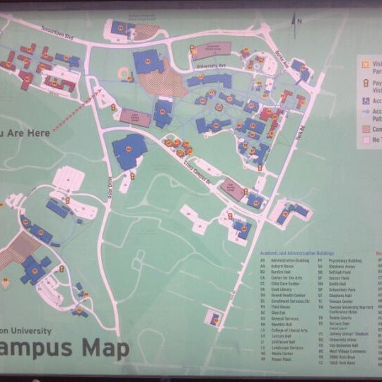 Photos at Towson University - Towson, MD