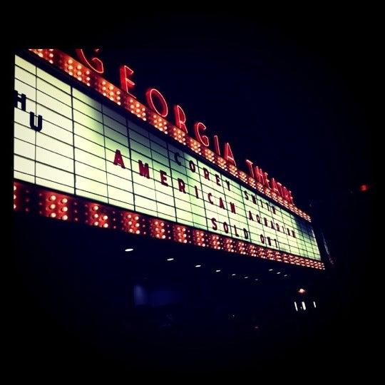 Das Foto wurde bei Georgia Theatre von Morgan L. am 9/16/2011 aufgenommen