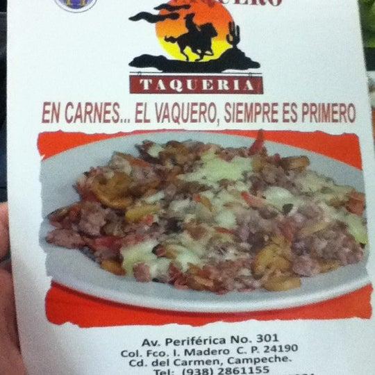 Foto tomada en OV Vaquero Restaurante y Taquería por JgGa D. el 8/5/2012
