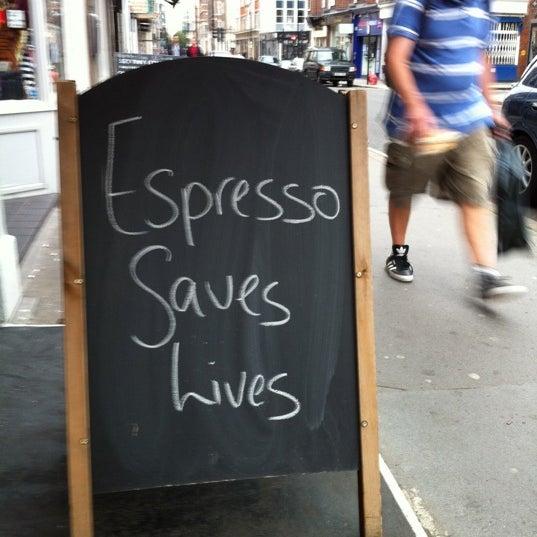 Photo prise au Kaffeine par Han L. le9/10/2011