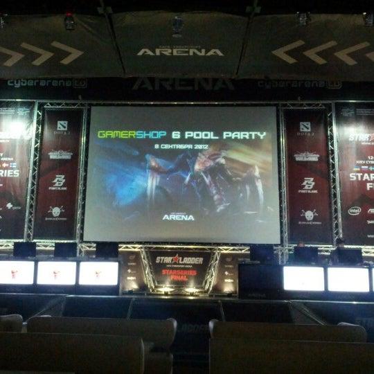 9/8/2012にTymur P.がКиберcпорт Аренаで撮った写真