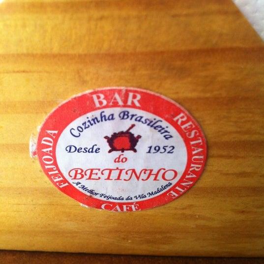 Foto tirada no(a) Bar do Betinho por Luis P. em 5/30/2012