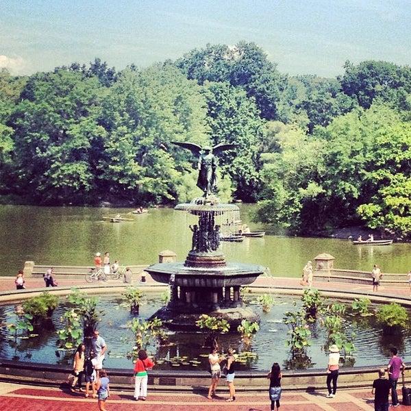 Centeral Park: Bethesda Fountain