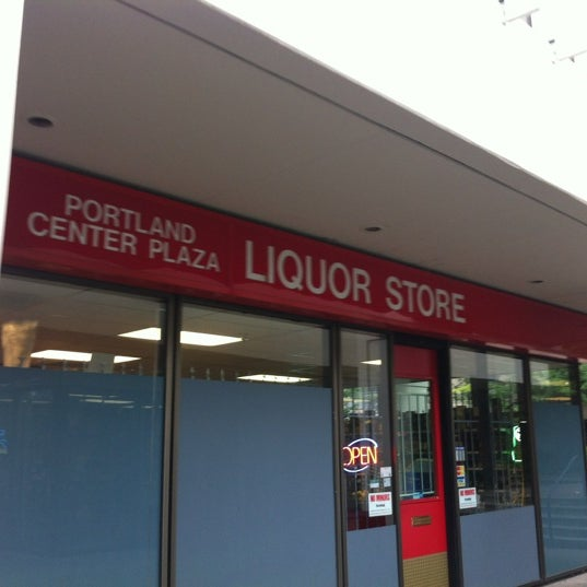 Photo Taken At Portland Center Plaza Liquor Store By Stewy R 10 On