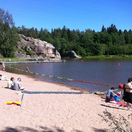 Das Foto wurde bei Pikkukosken uimaranta von Tuula I. am 6/22/2012 aufgenommen