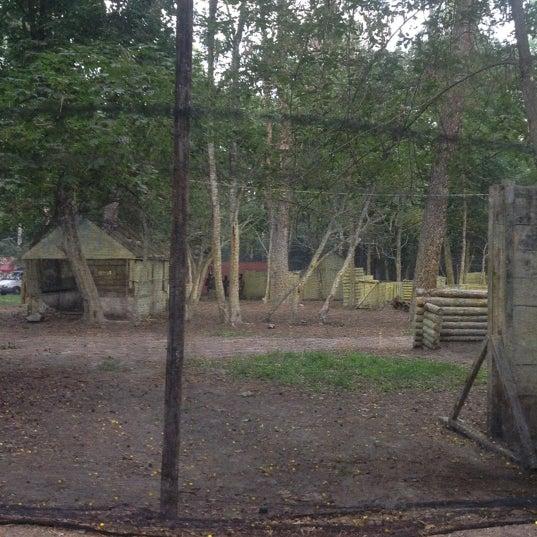 Снимок сделан в Пейнтбол «Гепард» пользователем Vitaliy S. 9/1/2012
