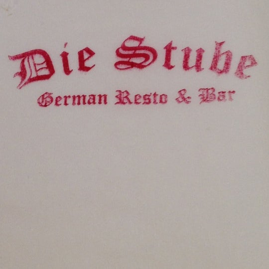 Foto tomada en Die Stube German Bar & Resto por Ferdynand P. el 3/17/2012