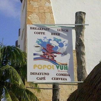 Снимок сделан в Popol Vuh Restaurante пользователем Menu P. 11/3/2011