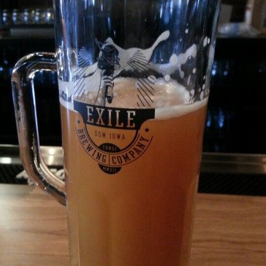 Das Foto wurde bei Exile Brewing Co. von LaVerne G. am 8/22/2012 aufgenommen