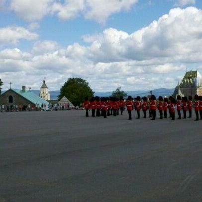 Photo prise au Citadelle de Québec par Don J. le7/8/2011