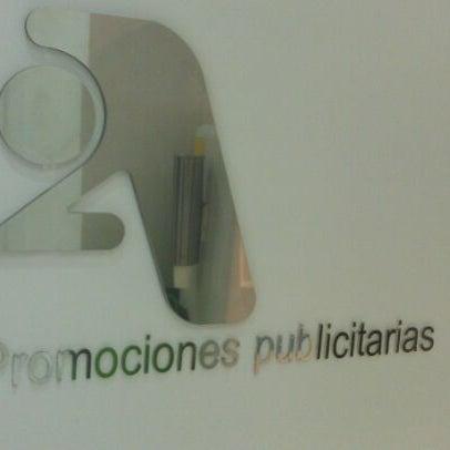 Foto tomada en 2A Promociones Publicitarias por Joaquín D. el 4/10/2012