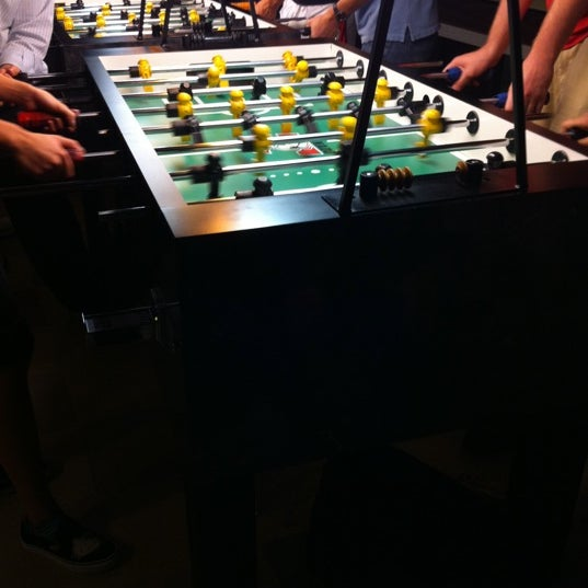 Come on Friday for pick-up foosball games !