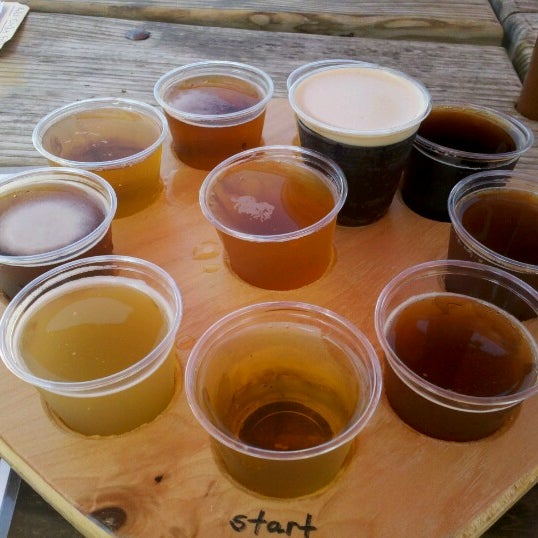 If you haven't been there before, must get the beer flight sampler. Ten 3 oz samples for $9! Great deal!