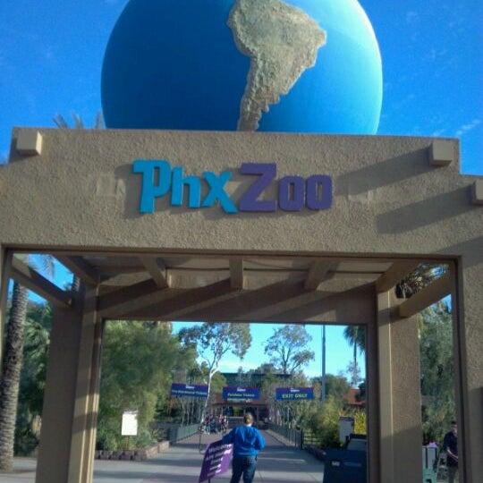 Снимок сделан в Phoenix Zoo пользователем Madonna K. 12/15/2011