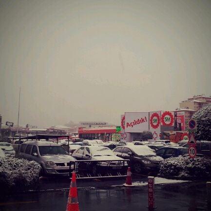Das Foto wurde bei Beylikdüzü Migros AVM von Sebnem Basak N. am 1/16/2012 aufgenommen