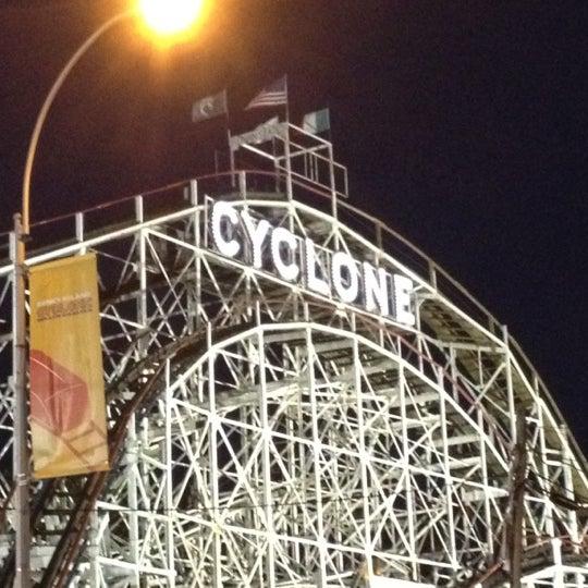 Foto tomada en The Cyclone por Tenicia D. el 8/31/2012