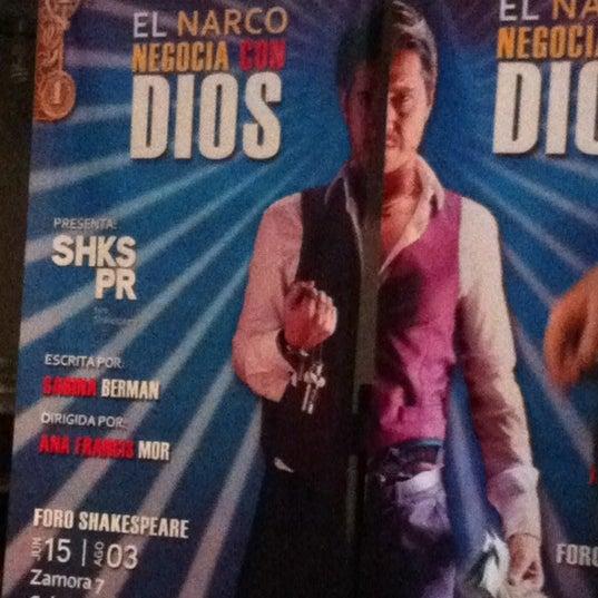 รูปภาพถ่ายที่ Foro Shakespeare โดย Jesús Eduardo เมื่อ 7/13/2012
