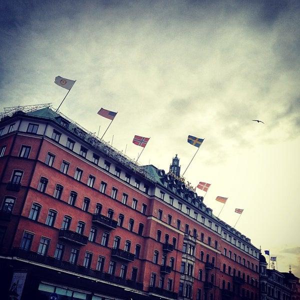 Foto tirada no(a) Grand Hôtel Stockholm por Feffe K. em 4/10/2012