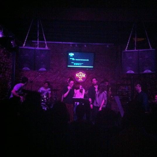 Foto diambil di Mask Live Music Club oleh ''Kıvanç D. pada 4/13/2012