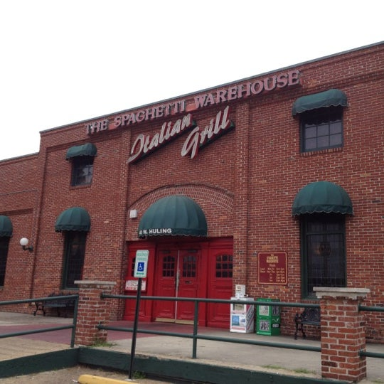 Spaghetti Warehouse Now Closed Italian Restaurant In Downtown Memphis