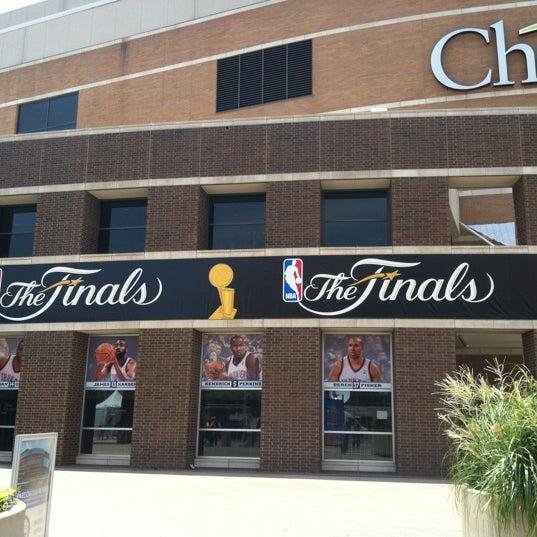 Das Foto wurde bei Chesapeake Energy Arena von Wendy J. am 6/14/2012 aufgenommen