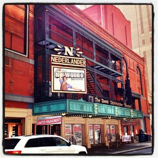 4/11/2012にJonathan T.がNederlander Theatreで撮った写真
