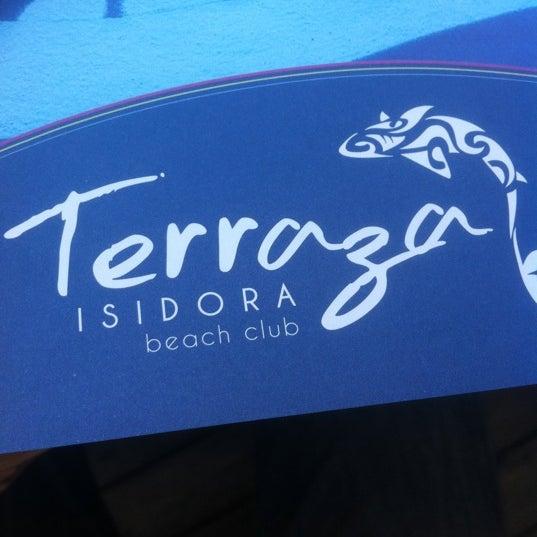 Foto scattata a Terraza Isidora Beach Club da José Ignacio S. il 12/30/2010