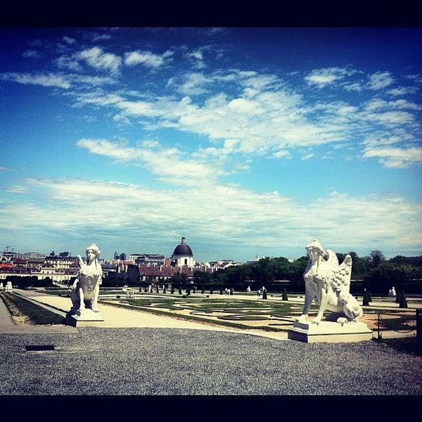6/9/2012 tarihinde Spider_Waveziyaretçi tarafından Oberes Belvedere'de çekilen fotoğraf