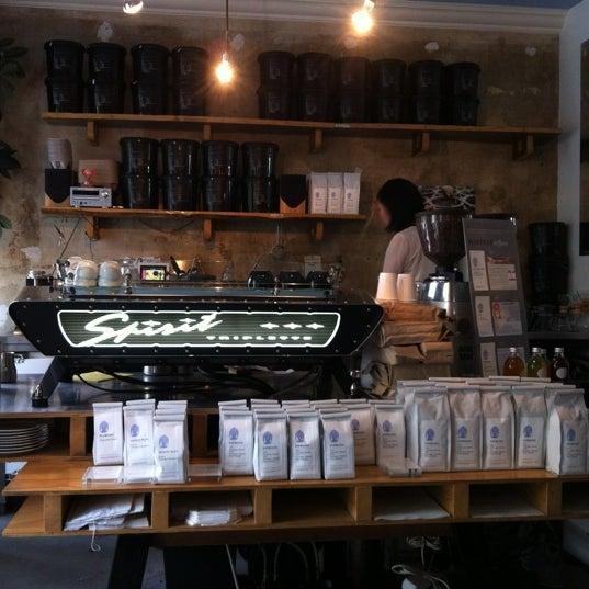 Снимок сделан в Bonanza Coffee пользователем Slava O. 7/7/2012