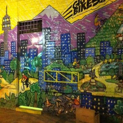 Foto tirada no(a) Barrio Italia por Leonardo V. em 8/2/2012