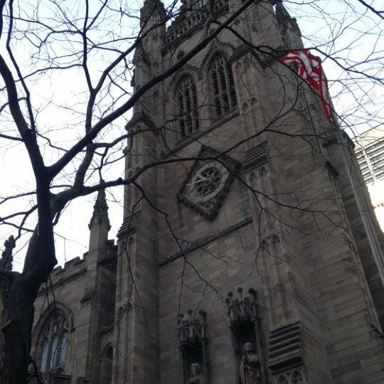 Photo prise au Trinity Church par Jorge R. le12/1/2011