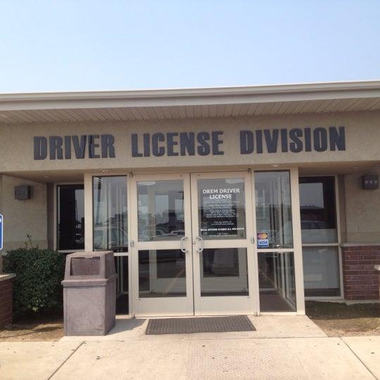 utah drivers license division orem