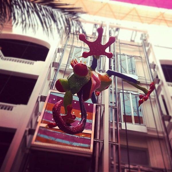 Снимок сделан в Museo de Arte Popular пользователем Daniela O. 10/19/2011
