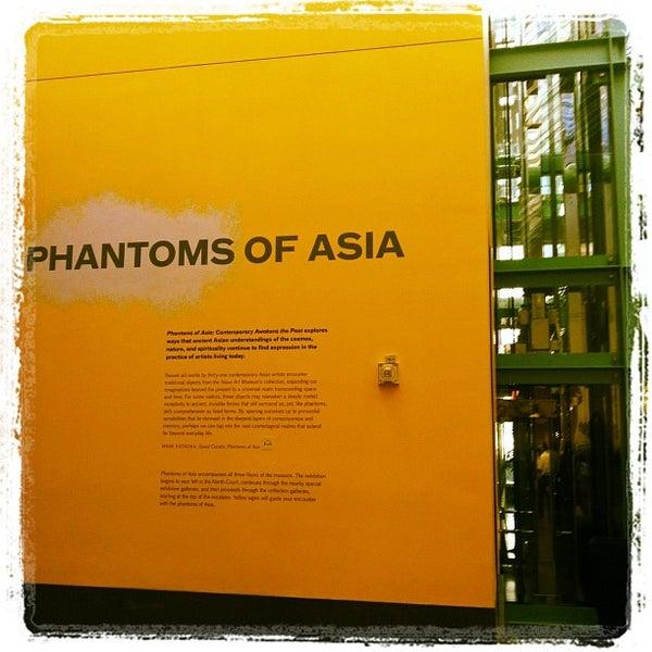 9/2/2012 tarihinde Steve R.ziyaretçi tarafından Asian Art Museum'de çekilen fotoğraf